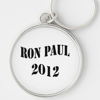 Ron Paul for President Silver-Colored Round Keychain
