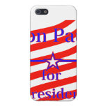 Ron Paul For President Strips With 3 Stars And Lin Case For iPhone 5