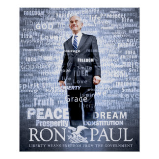 Ron Paul forever Poster
