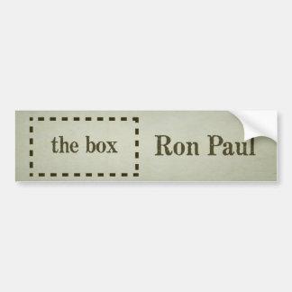Ron Paul fuera de la pegatina para el parachoques Etiqueta De Parachoque