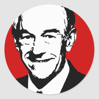 Ron Paul Gear Classic Round Sticker