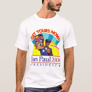 "Ron Paul ""Get Your Freedom!"" Retro Shirt"