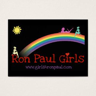 Ron Paul Girls Card VBusiness black