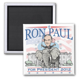 Ron Paul GOP Mascot 2012 Magnet