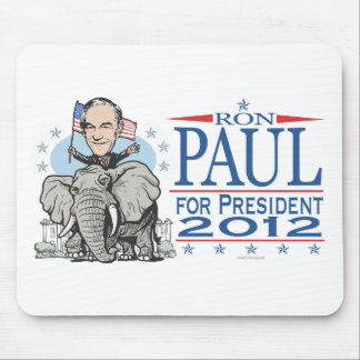 Ron Paul GOP Mascot 2012 Mouse Pad