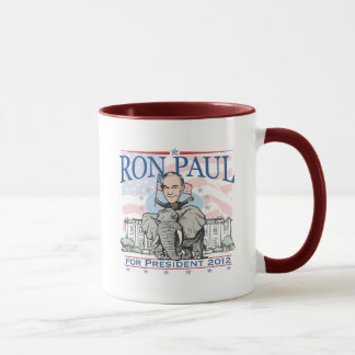 Ron Paul GOP Mascot 2012 Mug