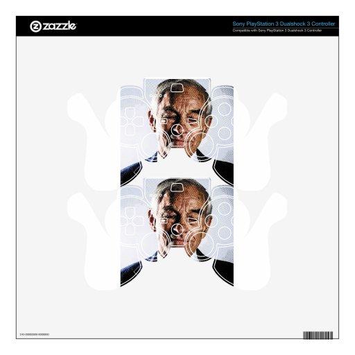 Ron Paul grabó el retrato Mando PS3 Skin