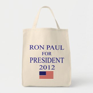 Ron Paul Grocery Bag