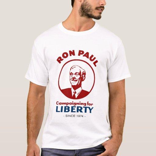 Ron Paul - haciendo campaña para la libertad desde Playera