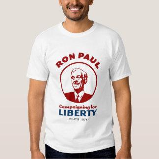 Ron Paul - haciendo campaña para la libertad desde Remeras