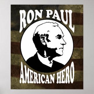 Ron Paul Hero :: $24.95 Graphic Print
