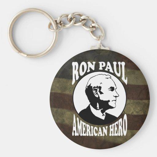 Ron Paul Hero :: $6.95 Keychain