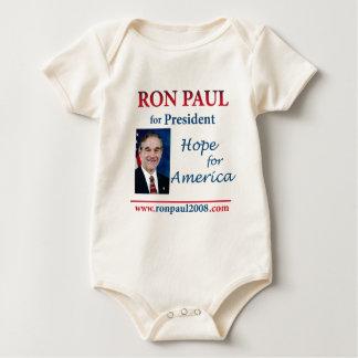 Ron Paul - Hope for America 24 x 24 Bodysuit