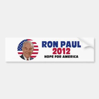 Ron Paul Hope for America Car Bumper Sticker