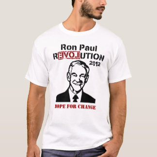 RON PAUL HOPE FOR CHANGE T SHIRT