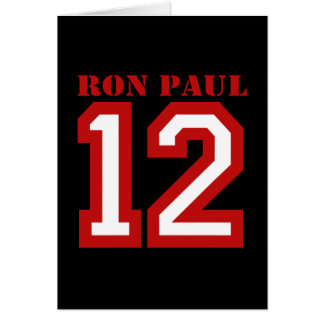 RON PAUL IN '12 GREETING CARDS