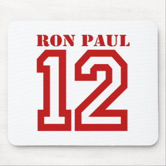 RON PAUL IN '12 MOUSE PAD