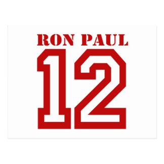 RON PAUL IN '12 POSTCARD