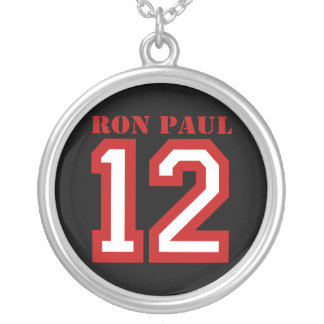 RON PAUL IN '12 ROUND PENDANT NECKLACE