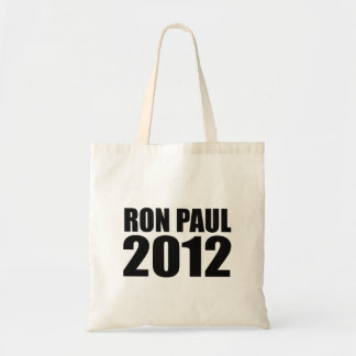 Ron Paul in 2012 Budget Tote Bag