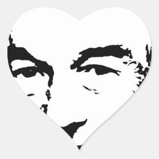 RON PAUL INK ART HEART STICKERS
