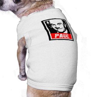 RON PAUL INK BLOCK.png Dog T-shirt