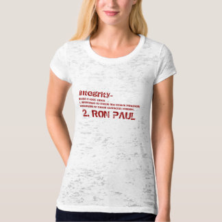 Ron Paul Integrity Tee