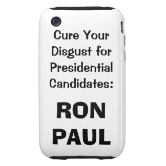 Ron Paul iphone case in white Tough iPhone 3 Cases
