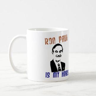 Ron Paul is my hero Coffee Mug