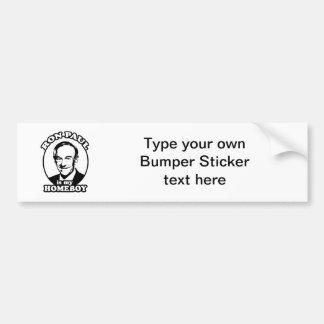 Ron Paul is my homeboy Bumper Sticker