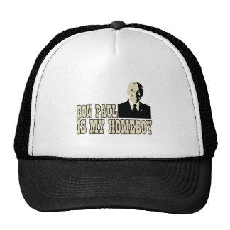 RON-PAUL-IS-MY-HOMEBOY TRUCKER HAT