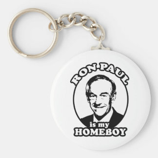 Ron Paul is my homeboy Key Chain