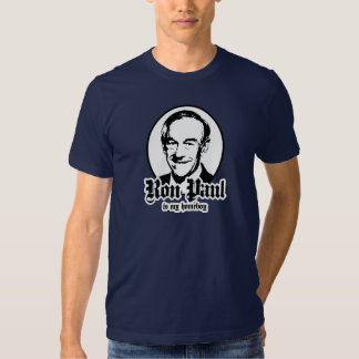RON PAUL IS MY HOMEBOY T SHIRT