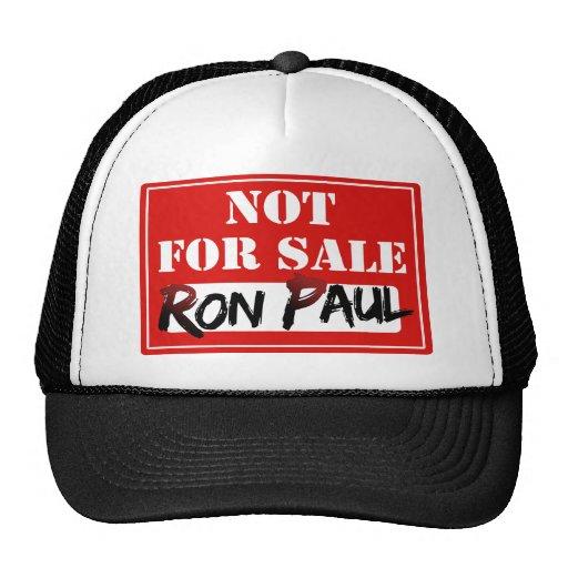 Ron Paul is NOT FOR SALE!!! Trucker Hat