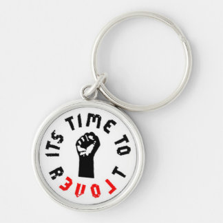 Ron Paul It s Time to Revolt Keychain Keychains