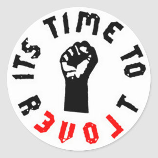 Ron Paul It s Time to Revolt Sticker