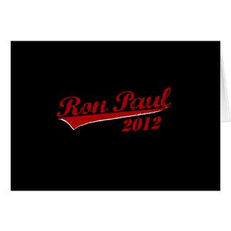 RON PAUL Jersey Greeting Card