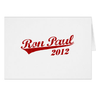 RON PAUL Jersey Cards