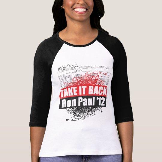 Ron Paul Jersey T-Shirt