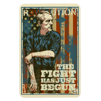 Ron Paul Just Begun Premium Magnet