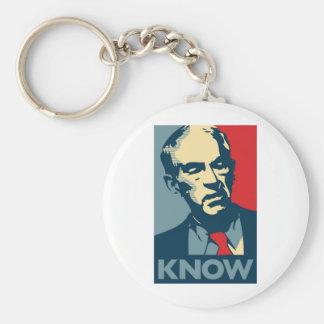 Ron Paul Know Keychain