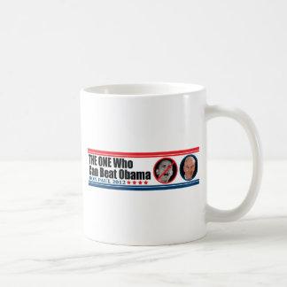 Ron Paul: La persona que puede batir a Obama Taza