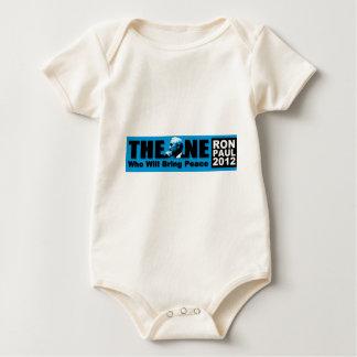 Ron Paul: La persona que traerá paz Body Para Bebé