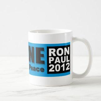 Ron Paul: La persona que traerá paz Taza De Café