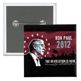 Ron Paul la revolución ahora es botón Pins