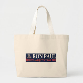 Ron Paul Libertad y justicia para TODOS Bolsas