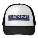 Ron Paul: Libertad y justicia para TODOS Gorras