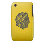 Ron Paul Libertarian Abstract Thought iPhone 3/3GS iPhone 3 Case-Mate Cases