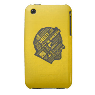 Ron Paul Libertarian Abstract Thought iPhone 3/3GS iPhone 3 Cases