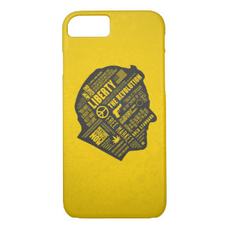 Ron Paul Libertarian Abstract Thought iPhone 7 cas iPhone 7 Case